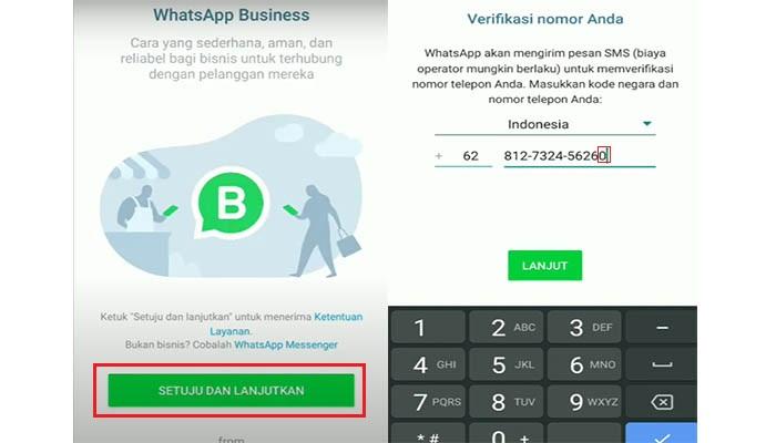 wa bisnis dan wa biasa dalam satu nomor