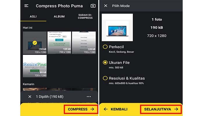 4 Cara Mengubah Ukuran Foto Menjadi 100kb Online Di Hp Laptop